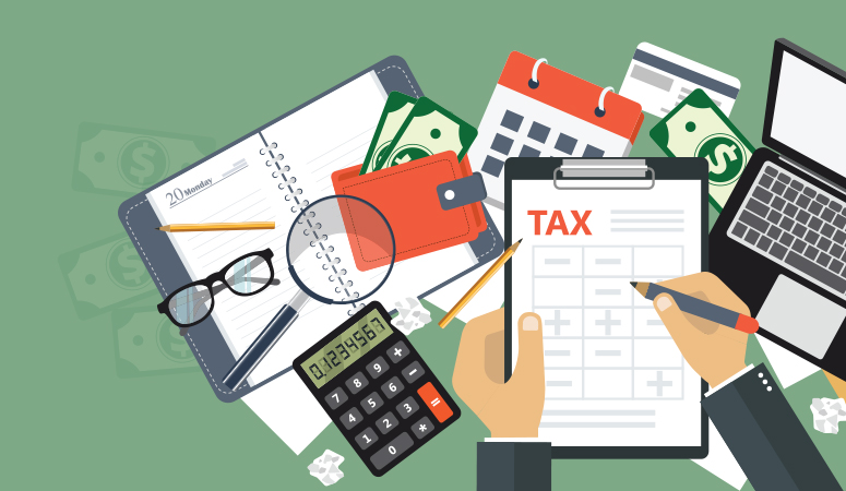 Tax preparation and documents